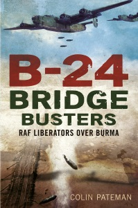 B-24 Bridge Busters By Colin Pateman, Front Cover