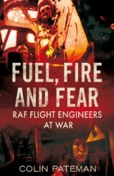 Fuel Fire and Fear By Colin Pateman, Front Cover