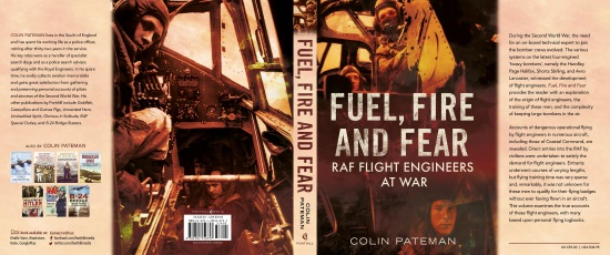 Fuel Fire and Fear - Book Jacket Cover