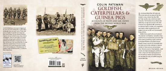 Goldfish, Caterpillars and Guinea Pigs By Colin Pateman - Jacket Cover